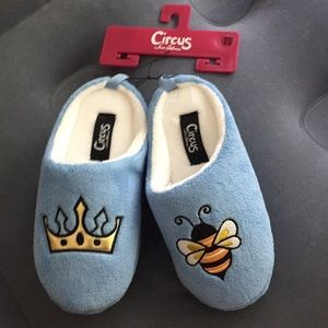 Sam Edelman circus plush slippers